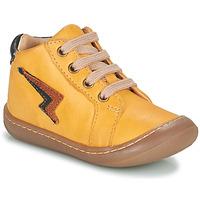Shoes Boy Hi top trainers GBB APODAMI Yellow