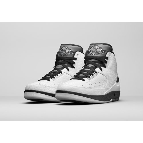 Shoes Hi top trainers Nike Air Jordan 2 Wing It White/Black-Cool Grey