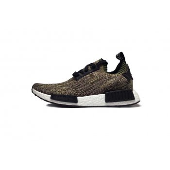 Shoes Low top trainers adidas Originals NMD Runner Primeknit Olive Olive Cargo/Core Black/FTW White Camo