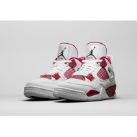 Shoes Hi top trainers Nike Air Jordan 4 Alternative 89 White/Black-Gym Red