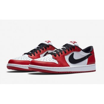 Shoes Low top trainers Nike Air Jordan 1 Low Chicago  Varsity Red/Black-White