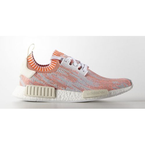 Shoes Low top trainers adidas Originals NMD Runner Primeknit Red Camo White/Solid Red/Off White Camo