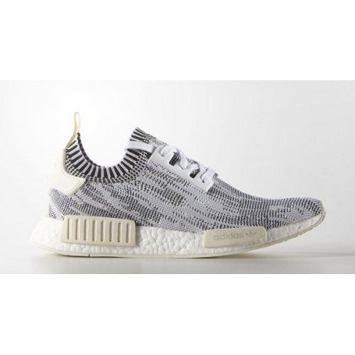 Shoes Low top trainers adidas Originals NMD Runner Primeknit Camo White  White/Core Black