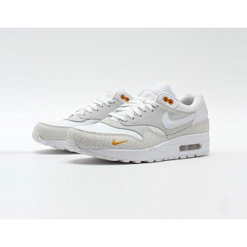 Shoes Low top trainers Nike Air Max 1 Kumquat White/White-Kumquat
