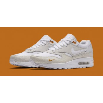 Shoes Low top trainers Nike Air Max 1 Kumquat White/White-Kumquat