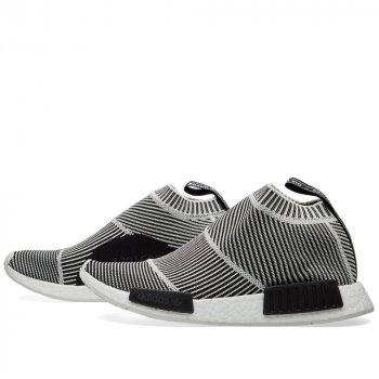 Shoes Hi top trainers adidas Originals NMD City Sock Primeknit B/W Core Black/Vintage White S15-St/Ftwr White