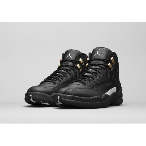 Shoes Hi top trainers Nike Air Jordan 12 The Master Black/White-Metallic Gold