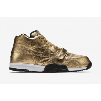 Shoes Low top trainers Nike Air Trainer 1 Super Bowl Metallic Gold/Metallic Gold-Black