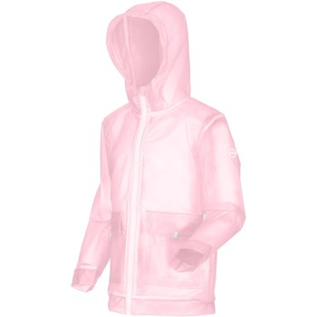 Clothing Girl Jackets Regatta HALLOW Transparent Jacket Pink