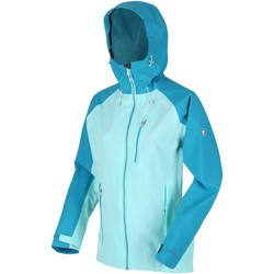 Clothing Women Jackets Regatta BIRCHDALE Waterproof Shell Jacket Blue