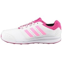 Shoes Girl Low top trainers adidas Originals Sport 2 K White, Pink