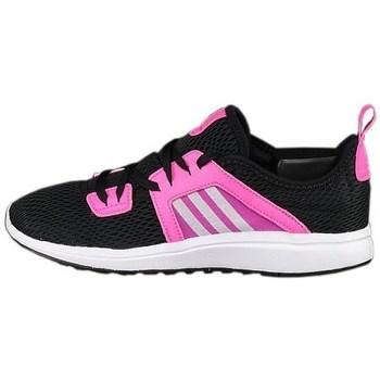 Shoes Women Fitness / Training adidas Originals Durama W White, Black, Pink