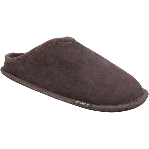 Shoes Men Slippers Cotswold Hidcote Chocolate
