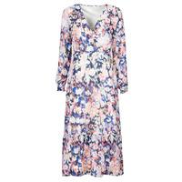 Clothing Women Long Dresses Only ONLZOE White / Multicolour