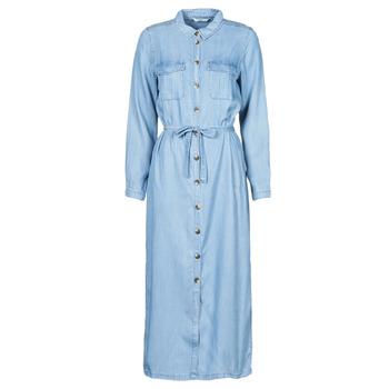 Clothing Women Long Dresses Only ONLCASI Blue / Medium