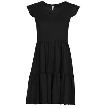 Clothing Women Short Dresses Only ONLMAY Black