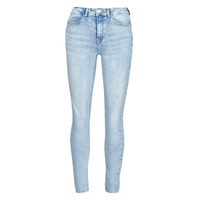 Clothing Women Slim jeans Only ONLPAOLA Blue / Clear