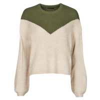 Clothing Women Jumpers Only ONLSOOKIE Beige / Kaki