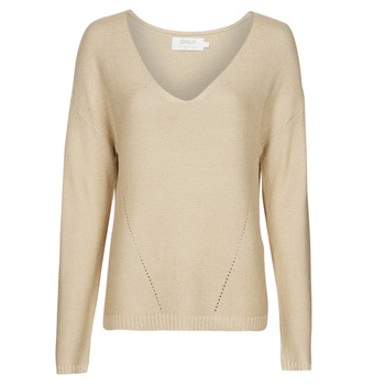 Clothing Women Jumpers Only ONLJOLIE Beige