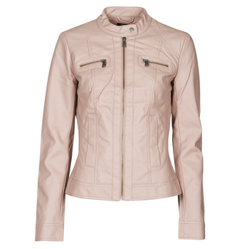 Clothing Women Leather jackets / Imitation leather Only ONLBANDIT Pink