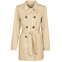 Clothing Women Trench coats Only ONLVALERIE Beige