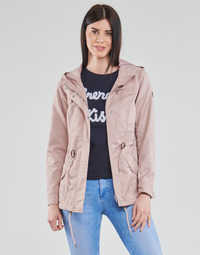 Clothing Women Parkas Only ONLLORCA Pink