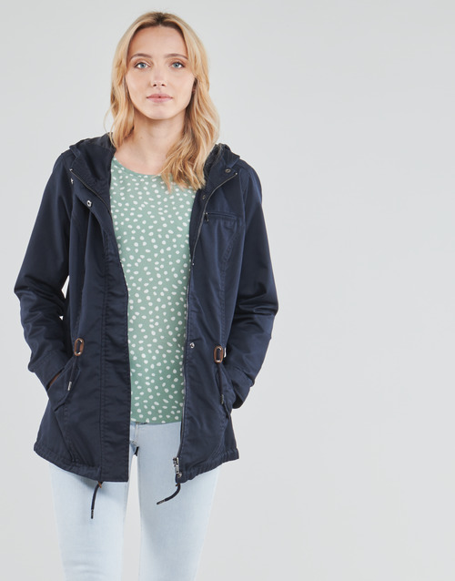Clothing Women Parkas Only ONLLORCA Marine