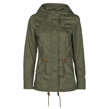 Clothing Women Parkas Only ONLLORCA Kaki