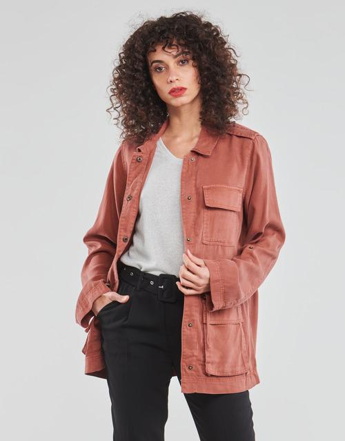Clothing Women Jackets / Blazers Only ONLKENYA Pink