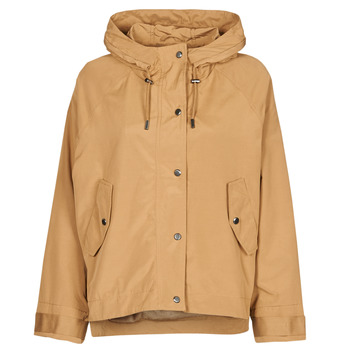 Clothing Women Parkas Only ONLELLA Cognac