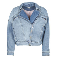 Clothing Women Denim jackets Only ONLJACK Blue / Medium