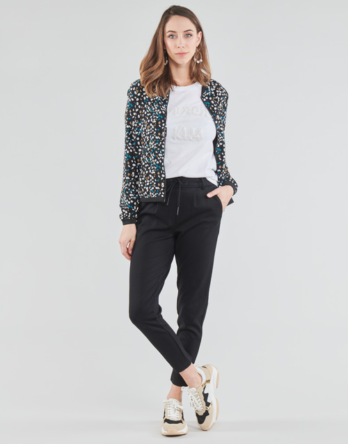 Clothing Women Chinos Only ONLPOPTRASH Black