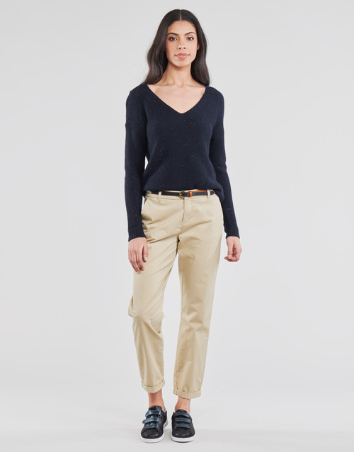 Clothing Women Chinos Only ONLBIANA Beige