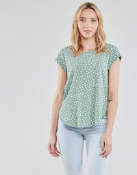 Clothing Women Tops / Blouses Only ONLVIC Green / White