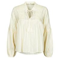 Clothing Women Tops / Blouses Only ONLNEW ELISA Beige