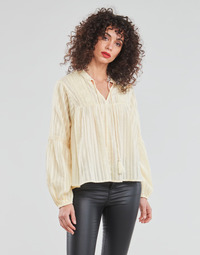 Clothing Women Tops / Blouses Only ONLNEW ELISA Beige
