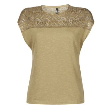 Clothing Women Tops / Blouses Only ONLELVIRA Beige