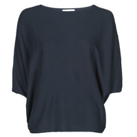 Clothing Women Jumpers JDY JDYNEW BEHAVE BATSLEEVE PULLOV. KNT NOOS Marine