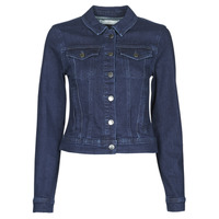 Clothing Women Denim jackets JDY JDYNEWWINNER STR JACKET BOX DNM NOOS Blue / Medium
