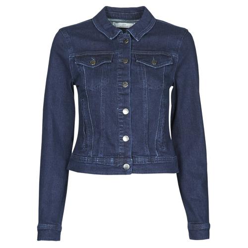 Clothing Women Denim jackets JDY JDYNEWWINNER STR JACKET BOX DNM NOOS Blue / Medium