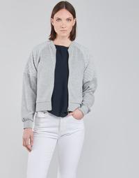 Clothing Women Sweaters JDY JDYNAPA L/S RAGLAN BOMBER JRS Grey