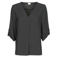 Clothing Women Tops / Blouses JDY JDYDIVYA 3/4 TOP WVN NOOS Black