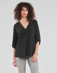 Clothing Women Tops / Blouses JDY JDYDIVYA 3/4 TOP WVN NOOS Black