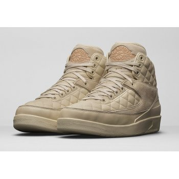 Shoes Hi top trainers Nike Air Jordan 2  Just Don Beach Beach/Metallic Gold-University Red