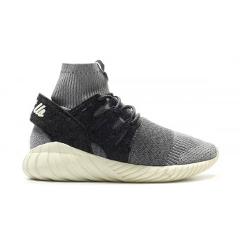 Shoes Hi top trainers adidas Originals Tubular Consortium x Kith Grey/Charcoal