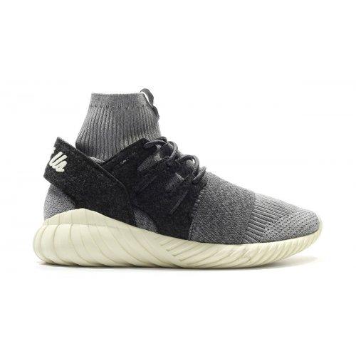 Shoes Hi top trainers adidas Originals Tubular Consortium x Kith Grey/Charcoal