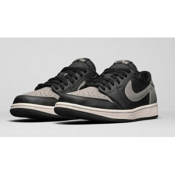 Shoes Low top trainers Nike Air Jordan 1 Low Shadow Black/Medium Grey-Sail