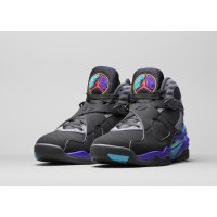 Shoes Hi top trainers Nike Air Jordan 8 Aqua 2015 Black/Bright Concord-Aqua Tone