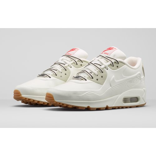 Shoes Low top trainers Nike Air Max 90 VT Tokyo White/White-Light Beige Chalk-Velvet Brown