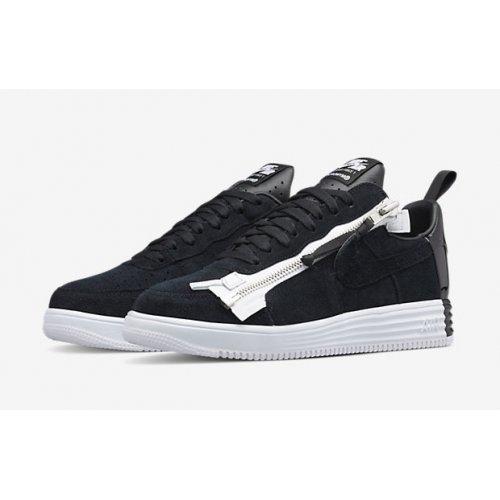 Shoes Low top trainers Nike Air Force 1 Lunar x Acronym Black/White Black/White-Black